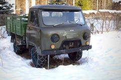 зима цепной цепи автомобиля готовая Стоковое фото RF