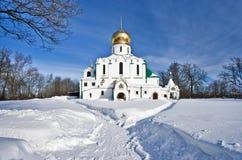 зима церков правоверная Стоковое Изображение