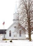 зима церков стоковое изображение rf