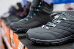 Зима ягнится ботинки Стоковое Изображение RF