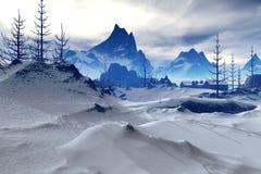зима 01 фантазии иллюстрация вектора