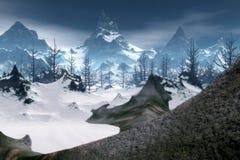 зима 02 фантазий бесплатная иллюстрация