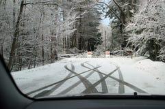 зима 2010 шторма Хемпшира новая Стоковое Изображение RF