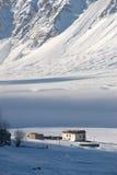 зима 4 долин zanskar Стоковые Изображения