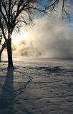 зима 9 мечт серий Стоковая Фотография