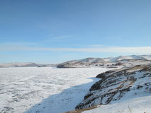 зима baikal стоковая фотография rf