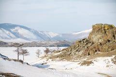зима baikal Стоковая Фотография