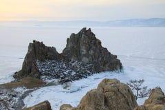 зима baikal Стоковые Фото