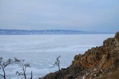 зима baikal Стоковые Изображения RF