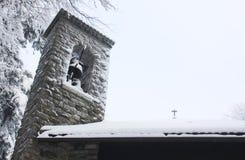 зима belfry Стоковое фото RF