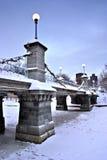 зима boston стоковые изображения