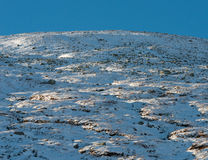 Зима Dovrefjell в Норвегии Стоковое фото RF