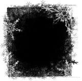 зима grunge рамки иллюстрация вектора