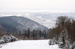 зима heidelberg Стоковое Изображение