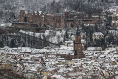 зима heidelberg Стоковые Фото