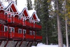зима lodge стоковые фото