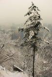 зима london города стоковое изображение rf