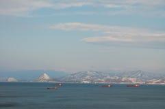 зима nakhodka залива Стоковое Изображение RF