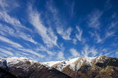 зима pelister парка naional ландшафта Стоковые Фото