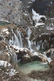 зима plitvice Стоковая Фотография
