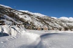 зима pragelato Стоковые Фотографии RF