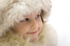 зима princess Стоковое Изображение