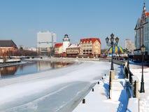 зима quay стоковые фото