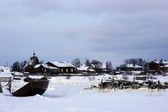 Зима Rabocheostrovsk России Стоковая Фотография RF