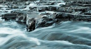 зима rapids Стоковые Фотографии RF