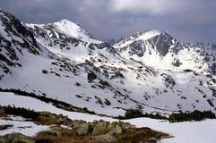 зима retezat panpark Стоковое фото RF