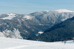 зима shauinsland Стоковое Изображение RF
