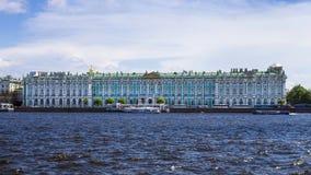 зима st petersburg России дворца Стоковое фото RF