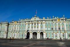 зима st petersburg России дворца Стоковое Изображение