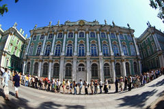 зима st petersburg России дворца обители стоковое фото