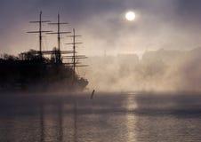 зима stockholm Стоковая Фотография