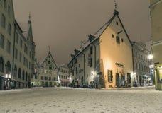зима tallinn стоковое изображение rf