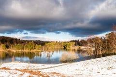 зима tarn hows Стоковая Фотография