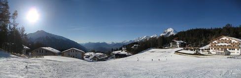 зима tirol Тироля неба Стоковые Фотографии RF
