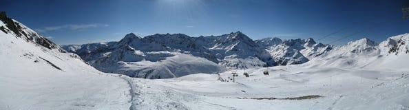зима tirol Тироля неба Стоковое Изображение