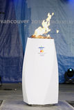 зима vancouver 2010 Олимпиад стоковая фотография rf
