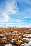 Зимний ландшафт от Исландии стоковое изображение rf