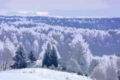 0 зим версии иллюстрации 8 имеющихся eps asama Взгляд от hillfort бесплатная иллюстрация