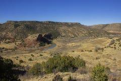 Злаковики Kiowa национальные - каньон мельниц Стоковые Изображения