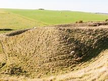 злаковик a природы ландшафта крепости девичьего утюга замка исконный стоковая фотография