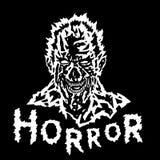 Злая голова демона с сорванной стороной также вектор иллюстрации притяжки corel Стоковое Изображение