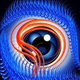 злейший глаз иллюстрация вектора