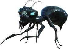 Злий муравей изверга, изолированный зверь, насекомое Стоковое фото RF