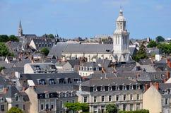 злит церковь Францию Стоковое Изображение