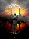 зло ангела Стоковое Изображение RF