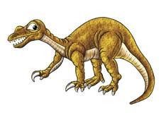 зло динозавра Стоковое Изображение